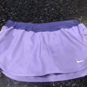 Nike Dri Fit Running Skirt Med.